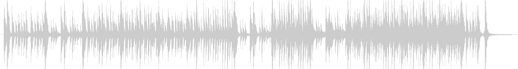 モーションアニメのためのジャジーなポップの未再生の波形