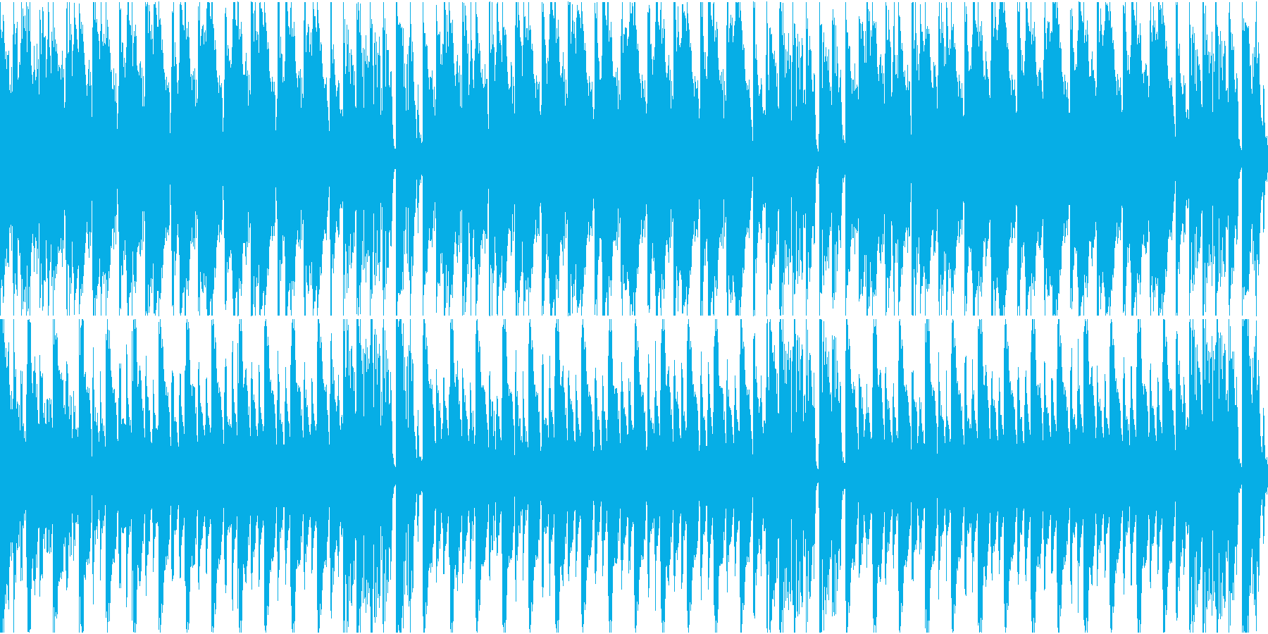 Dubstepを使用したファンキー...の再生済みの波形