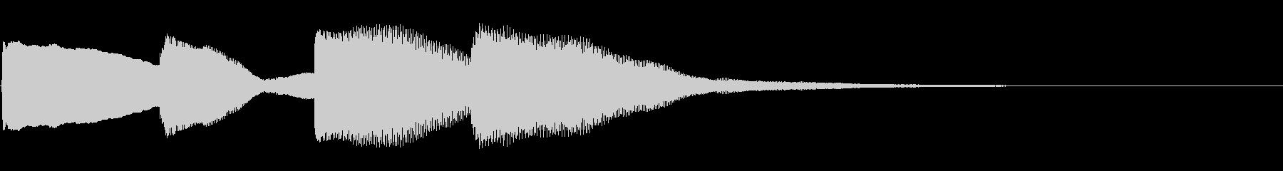 ピンポンパンポン01-4(バイノーラル)の未再生の波形