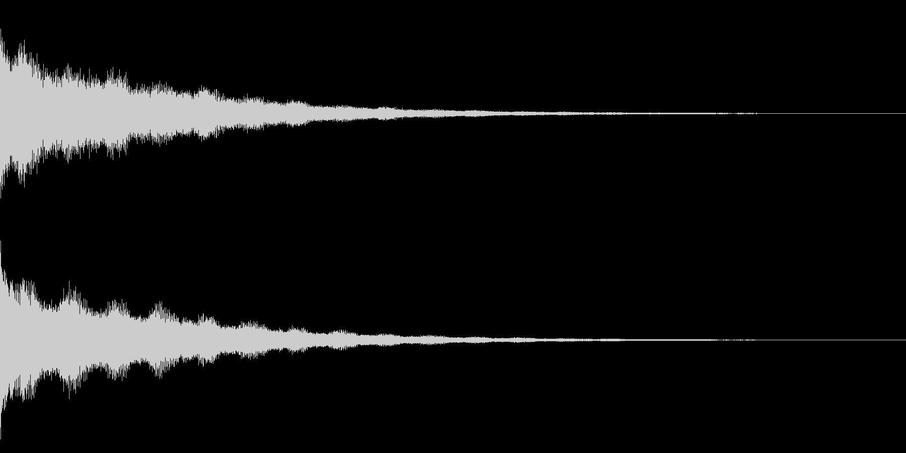 ジーン(アンビエンス)の未再生の波形