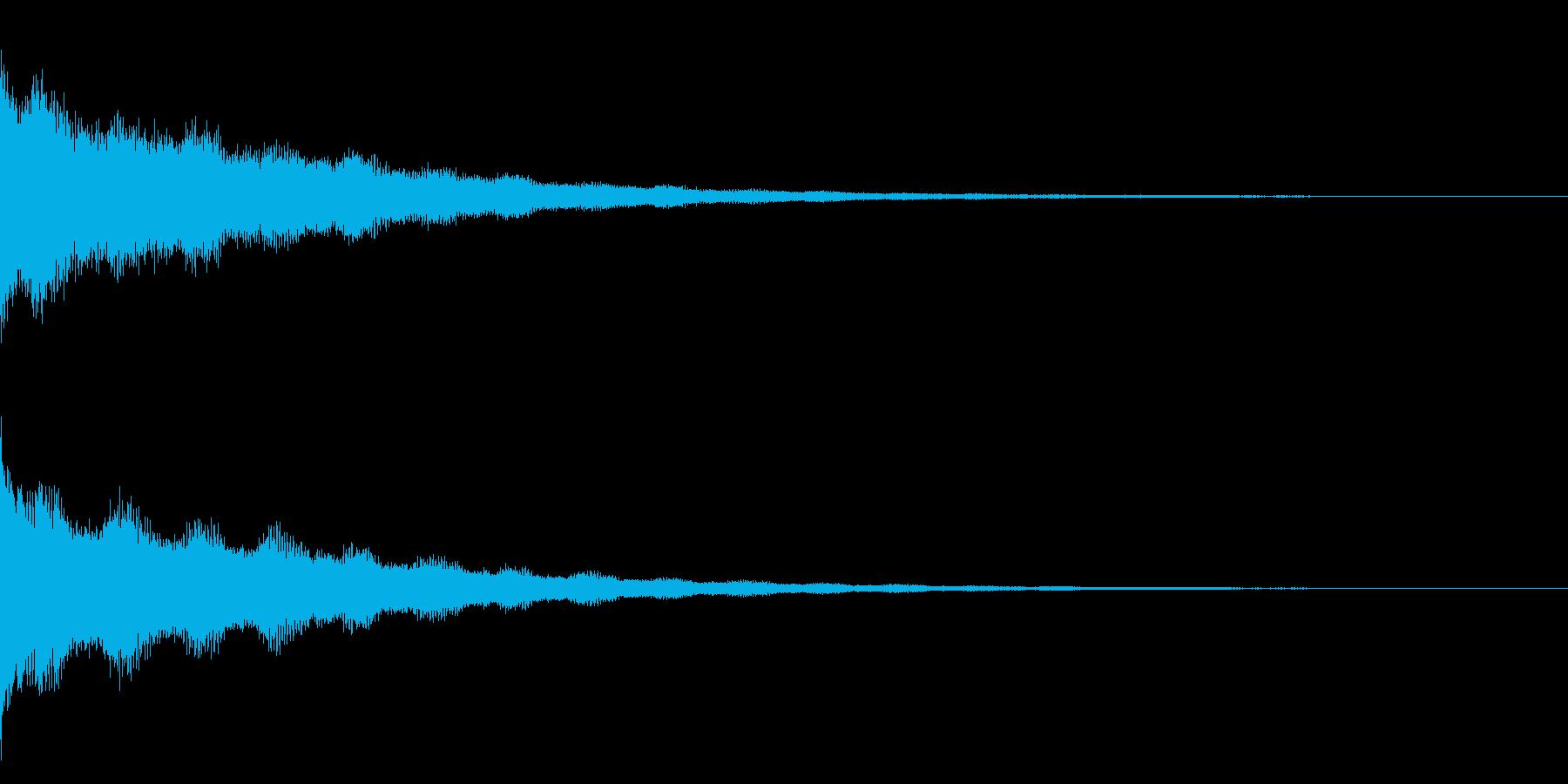 ジーン(アンビエンス)の再生済みの波形