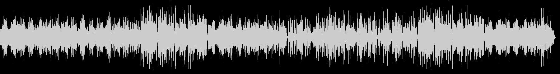 フルートほのぼのボサノバの未再生の波形