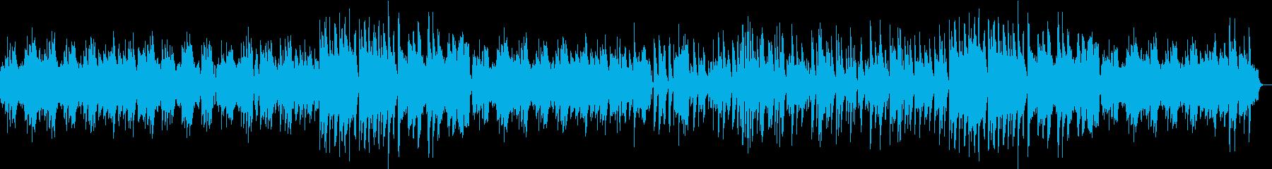 フルートほのぼのボサノバの再生済みの波形