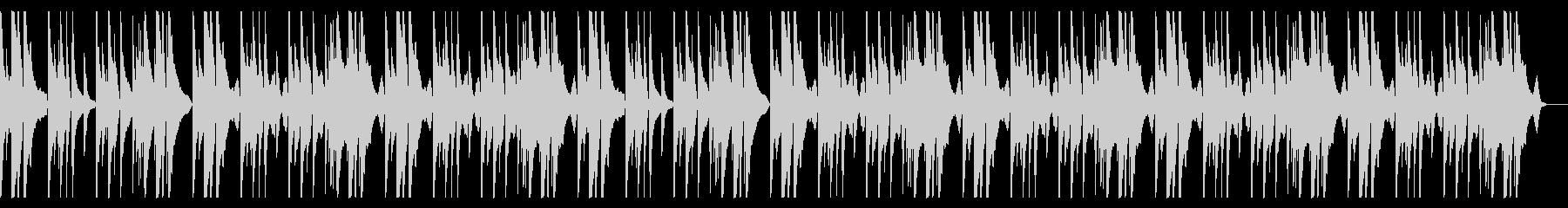 明るく切ないピアノメインのBGMcの未再生の波形