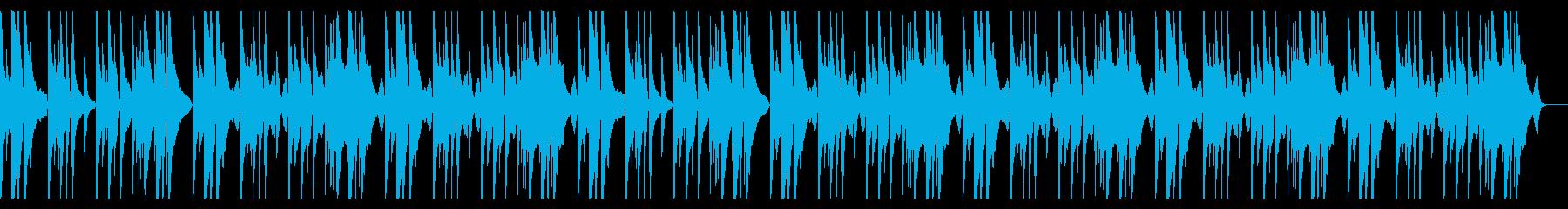 明るく切ないピアノメインのBGMcの再生済みの波形