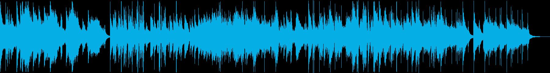 ムーディーなジャズバラードです。の再生済みの波形
