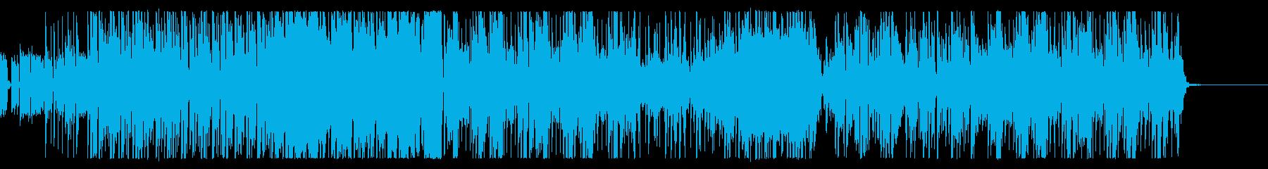 トラップでかっこいい曲の再生済みの波形