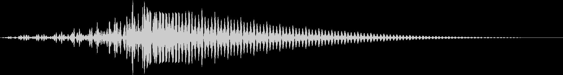 SF通過音02-01の未再生の波形