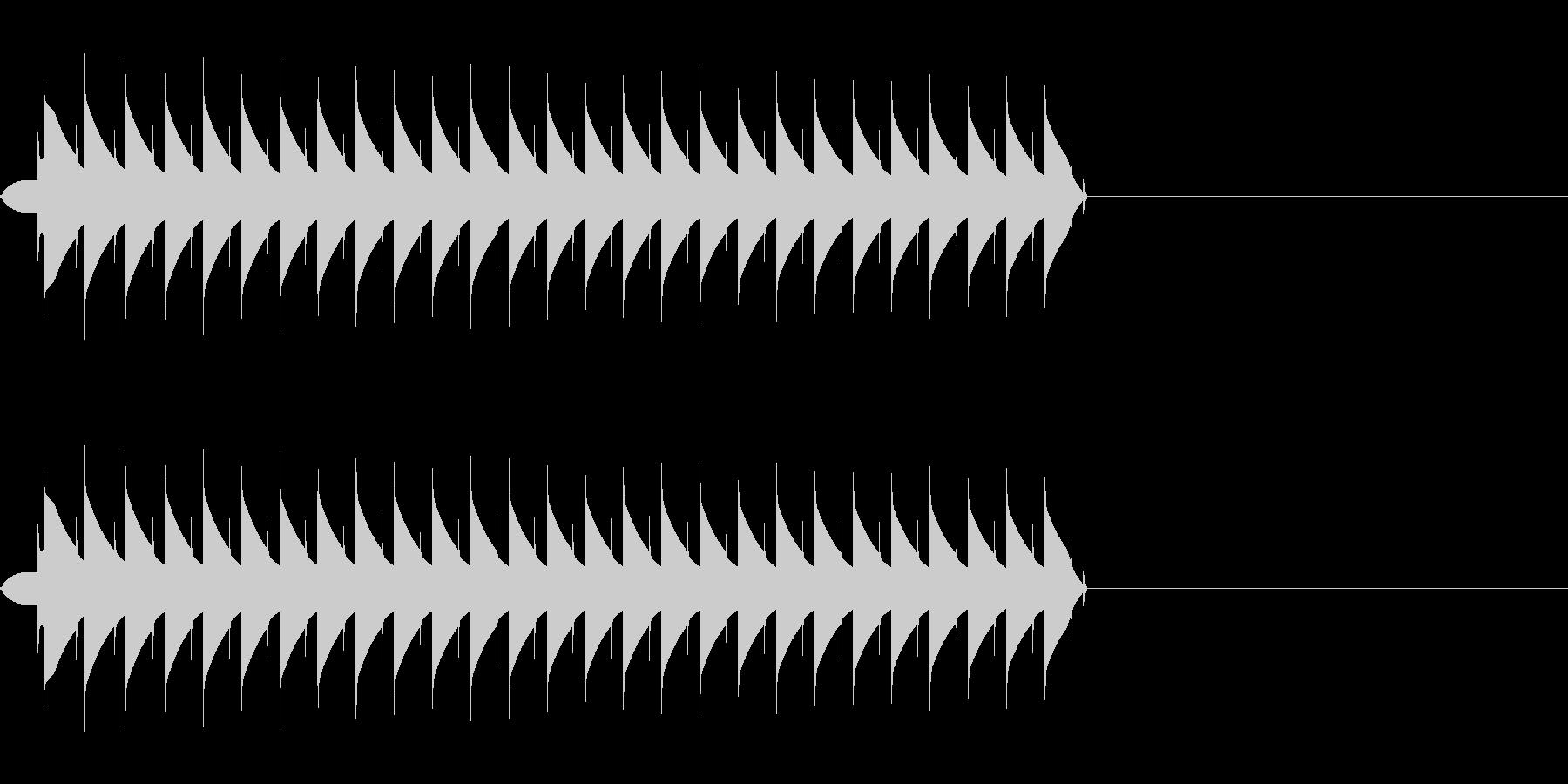 ブー(ミス、エラー、失敗、ファミコンの未再生の波形