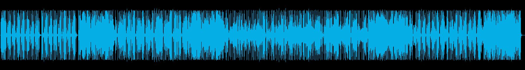 お洒落でちょっとレトロなオルガンPOPの再生済みの波形