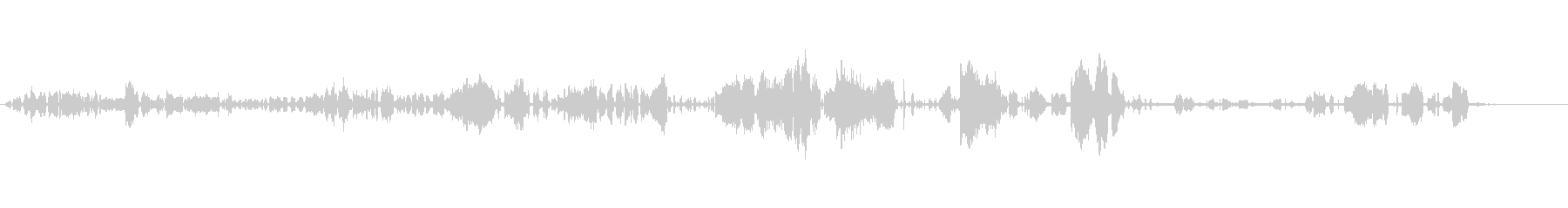 アジサシ-STERNA HIRUNDO-の未再生の波形