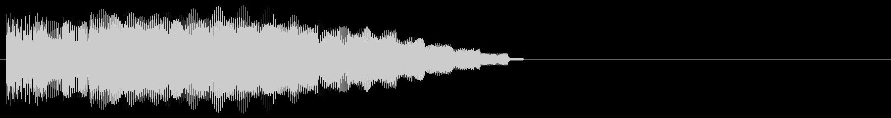 明るいシンプルなアイキャッチの未再生の波形