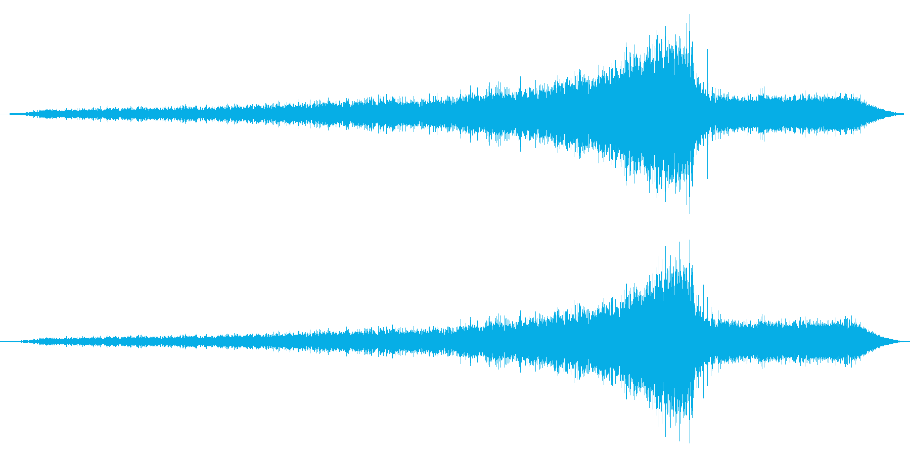 Ext:高速でアプローチオン、スト...の再生済みの波形