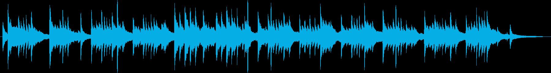 優しい・ほのぼの ピアノソロ独奏の再生済みの波形