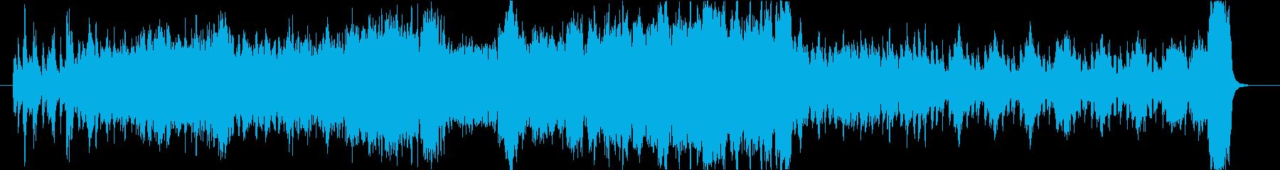 信頼と実績のオーケストラの再生済みの波形