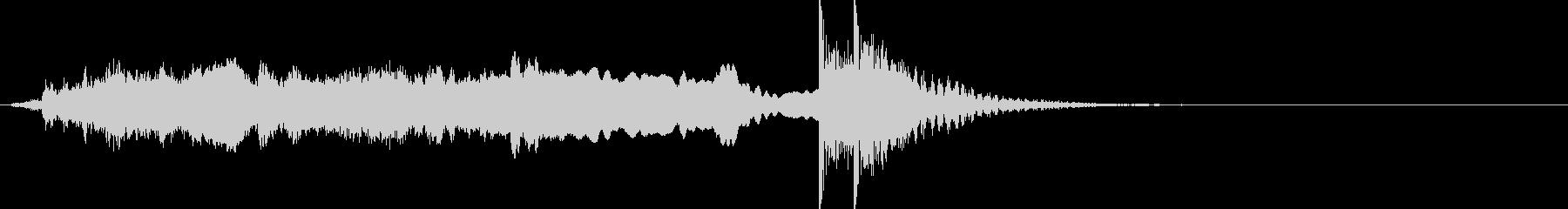 和風 掛け声よー深妙な感じ 笛、太鼓 1の未再生の波形