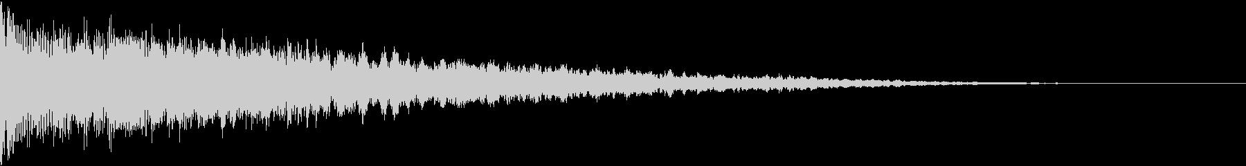 ドンとバン:都市伝説などのテロップ時5の未再生の波形