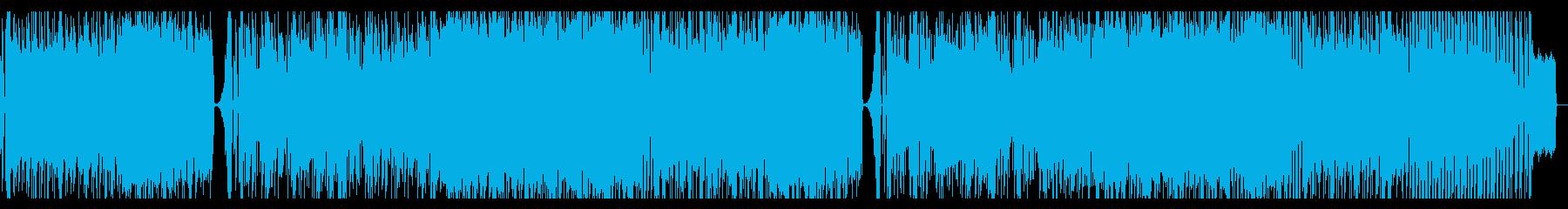 レースゲームBGM的爽快DnB(メロ無)の再生済みの波形
