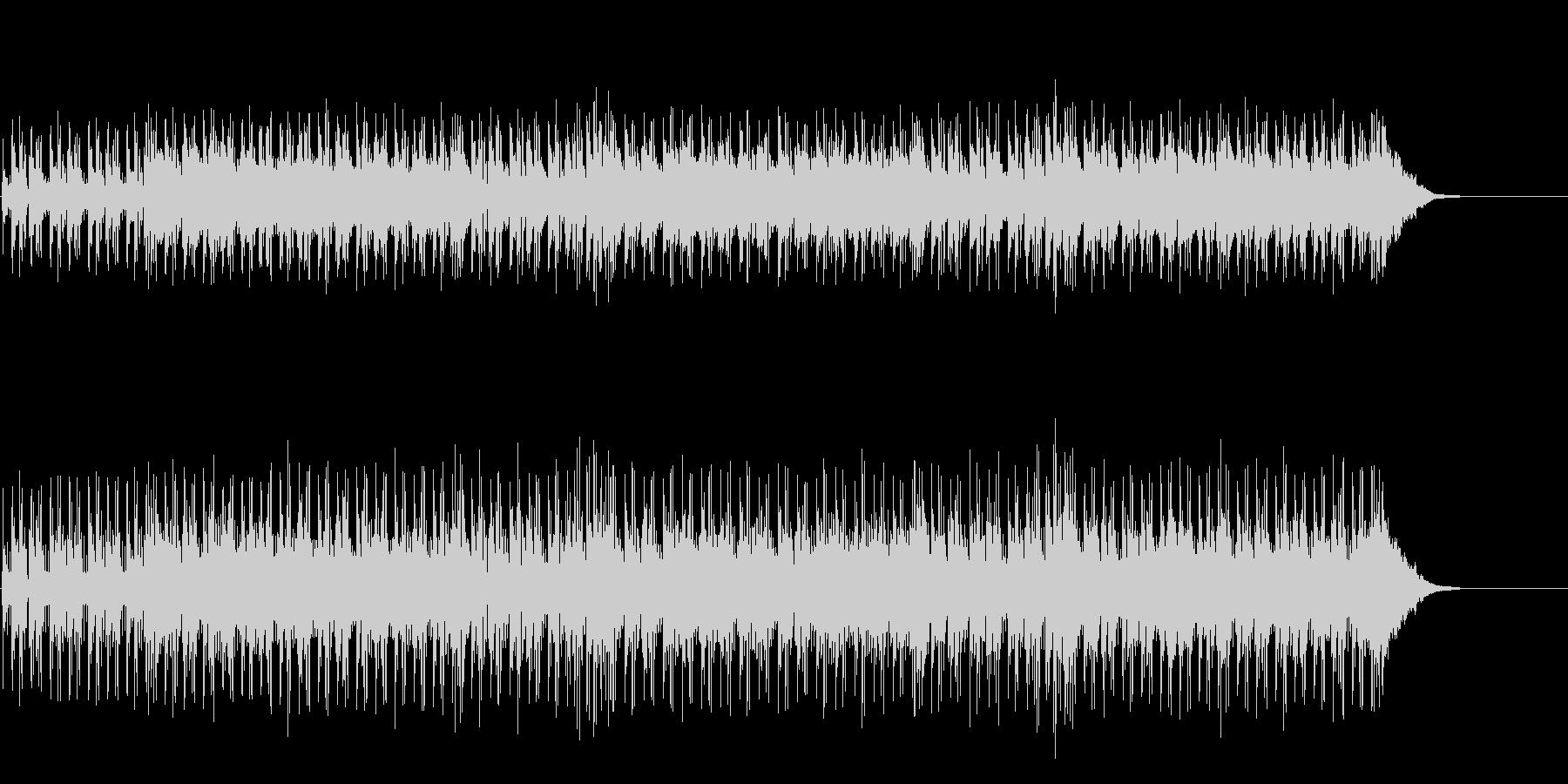ノスタルジックのシンセ・サウンドの未再生の波形