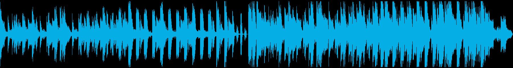サクッとかるフワなシンプル短尺BGMの再生済みの波形