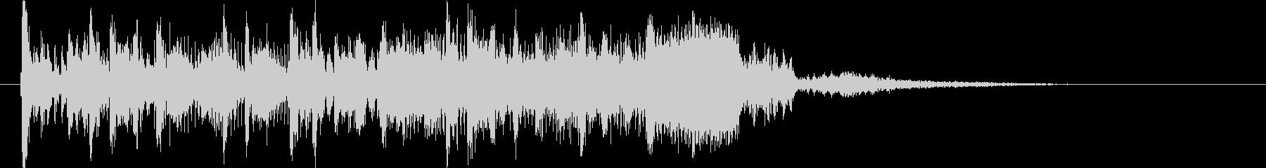 スピード&パワフルな未来的デジタルロゴの未再生の波形