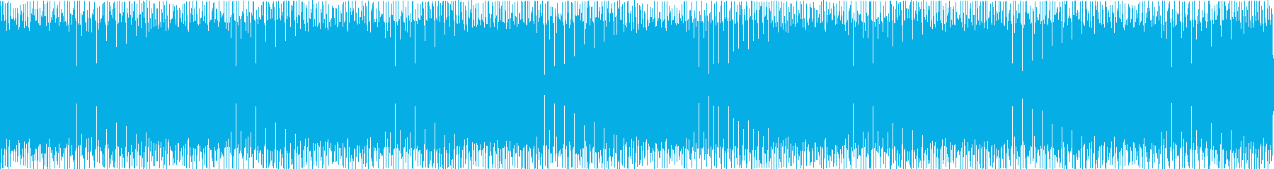 最先端でおしゃれな雰囲気のディスコの再生済みの波形