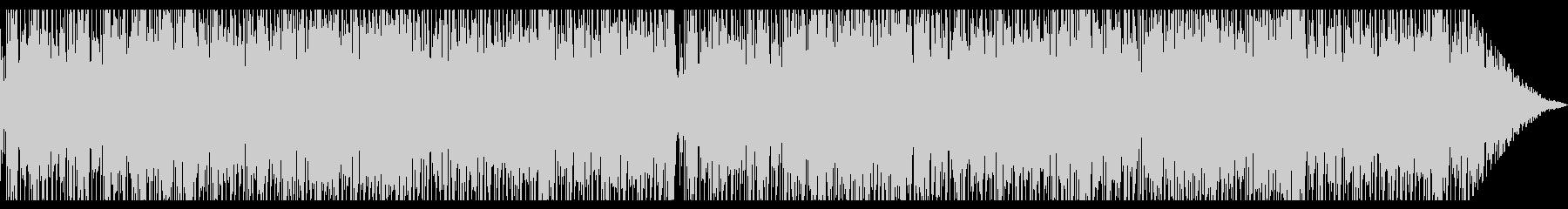 クラシックギターソロの軽快なラテンBGMの未再生の波形