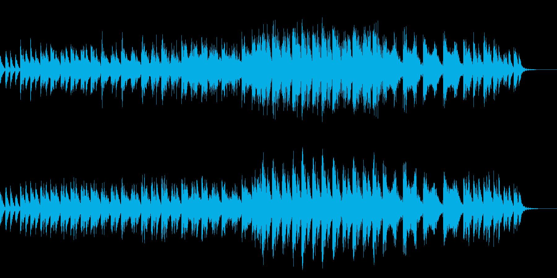 推理モノのBGMの再生済みの波形