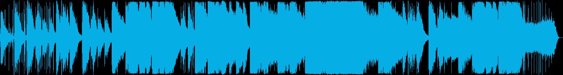 ミュートトランペットが魅惑的の再生済みの波形