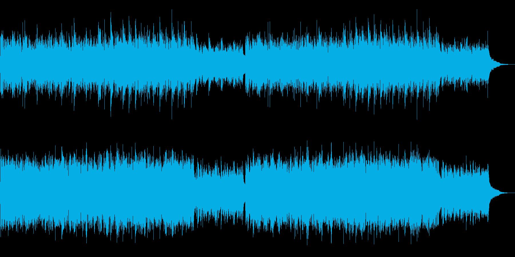 企業VP、CMに 穏やかなピアノの再生済みの波形