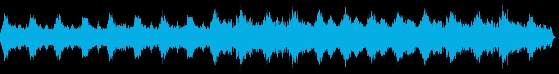 深海の神秘を感じるヒーリングBGMの再生済みの波形