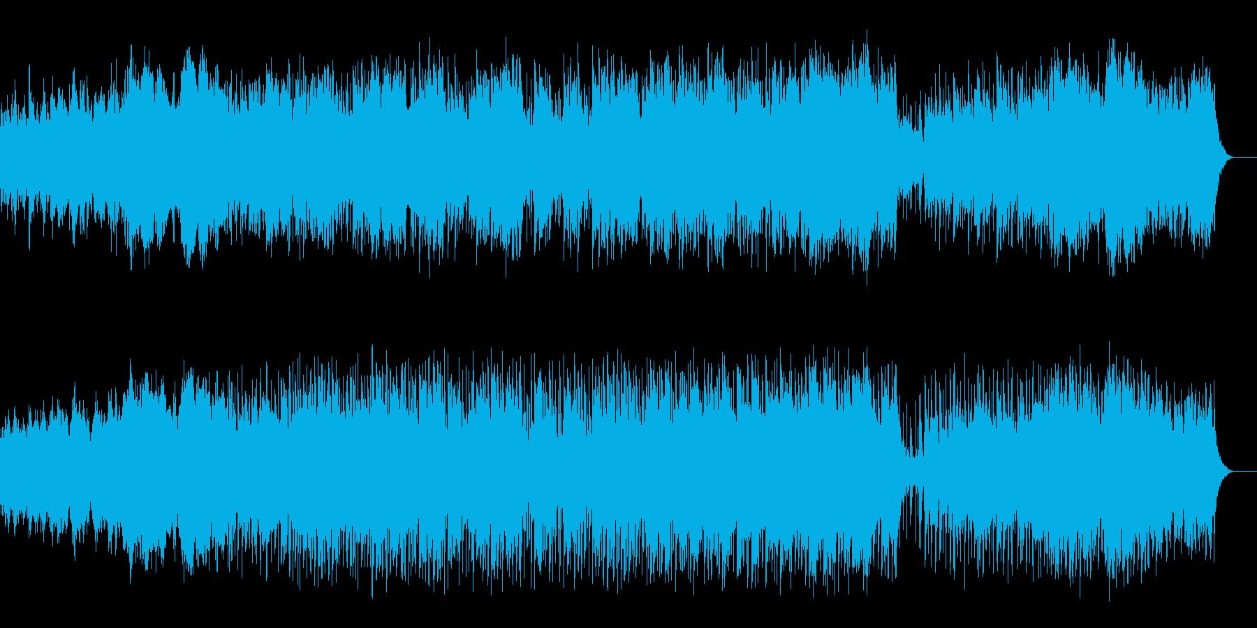 ギターの旋律が印象的な夏に合うインストの再生済みの波形