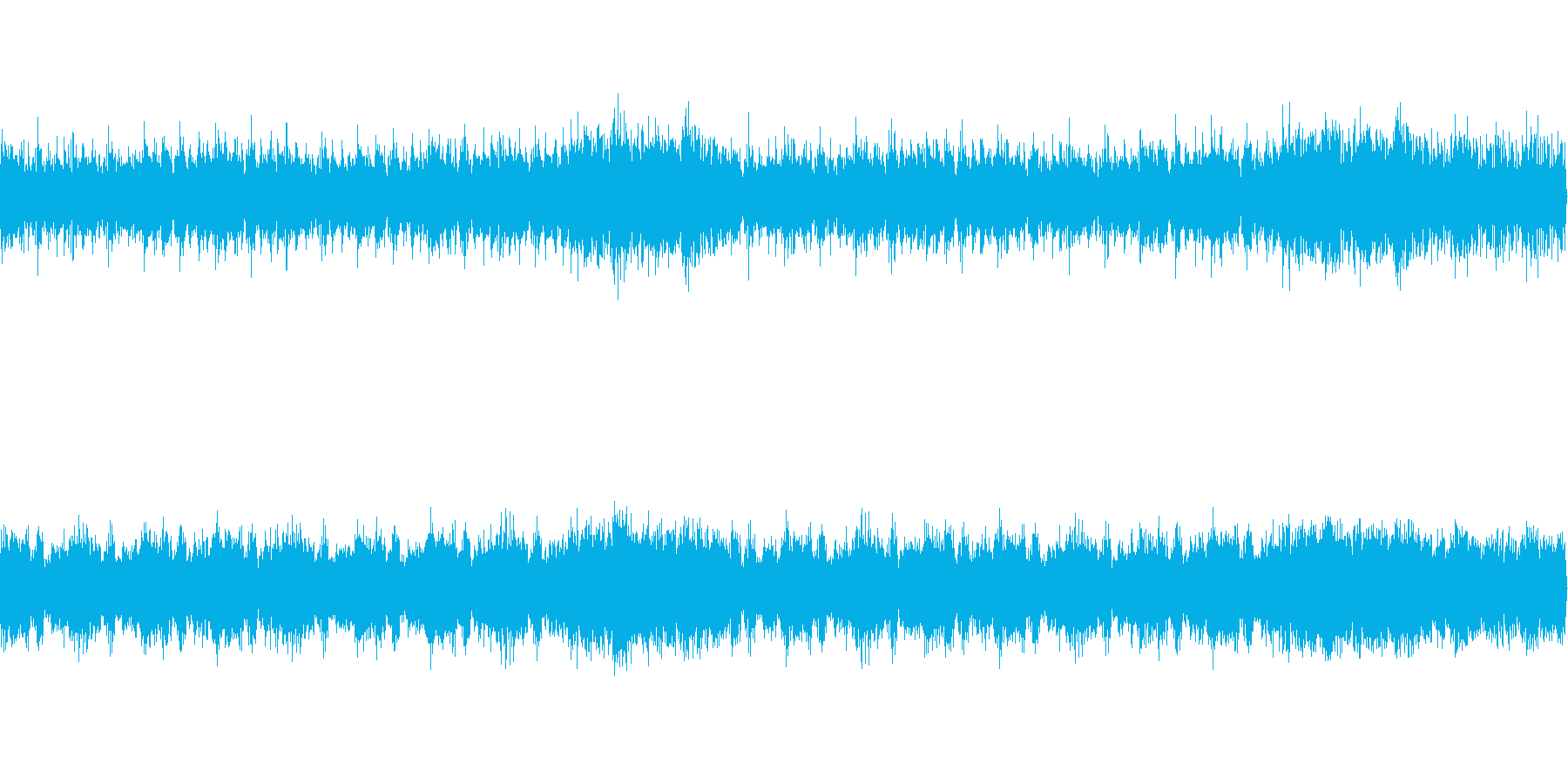 太鼓とストリングス。軽度の焦りの再生済みの波形