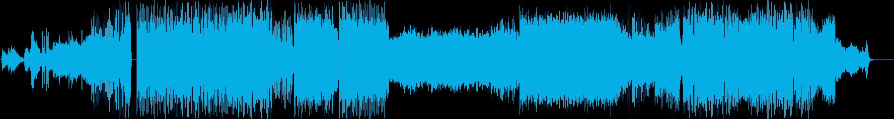 幻想的な音と怪しくもノリ良いビートの曲の再生済みの波形