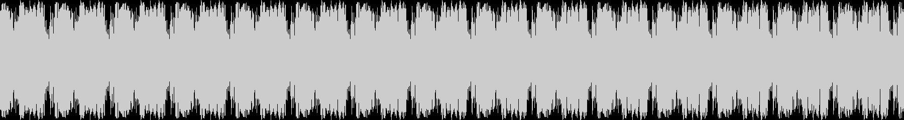 奇妙なシンセ音の未再生の波形