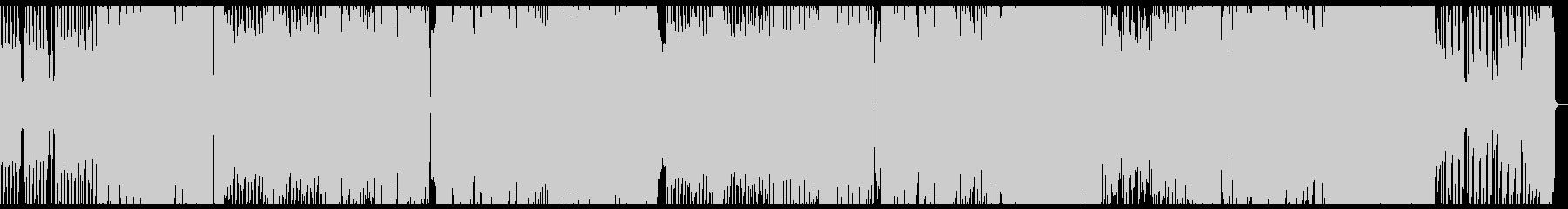 EDM 明るい 勢いのある4つうちの未再生の波形