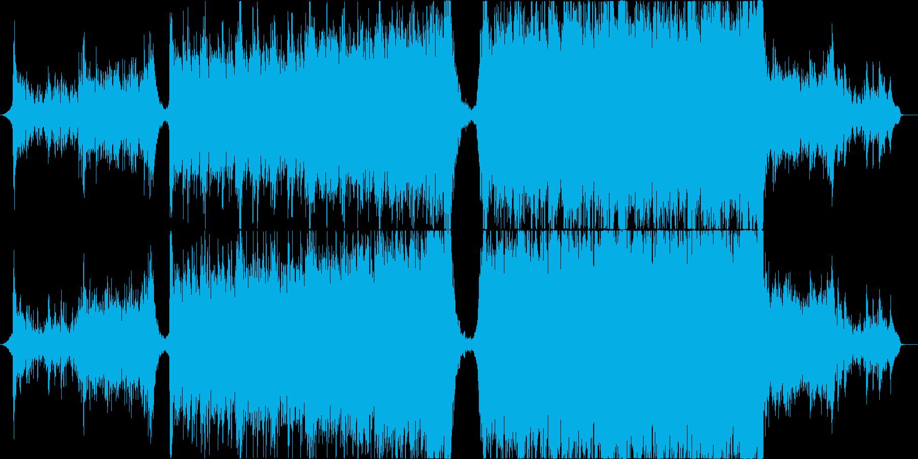 エモーショナルで盛り上がるエピックの再生済みの波形