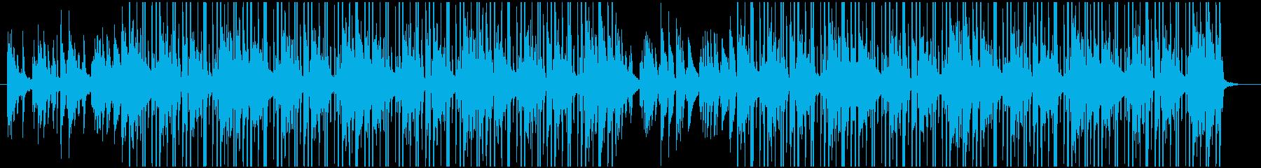 ピアノメインのLo-Fi Hip Hopの再生済みの波形