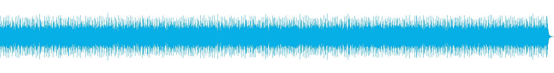 アフリカン、インディアンなBGMの再生済みの波形