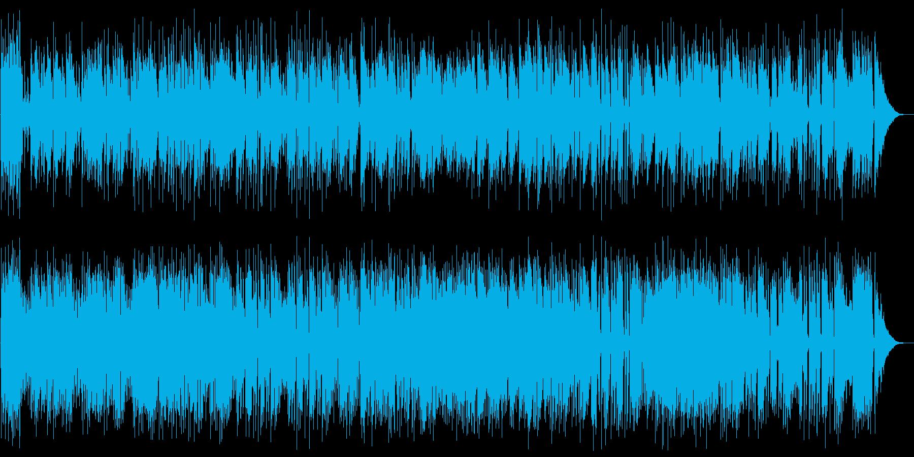 ダッタン人の踊りJazzの再生済みの波形