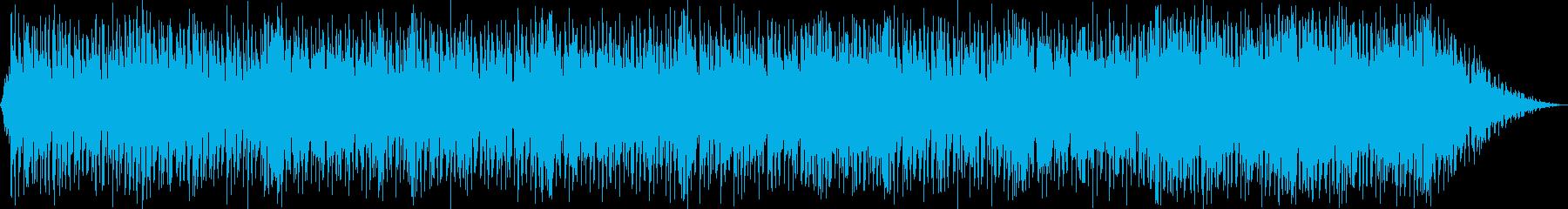 感動的で、ピアノをベースにした、バ...の再生済みの波形