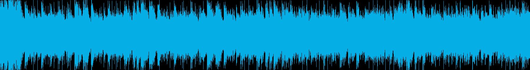 ドタバタだけどキラキラ楽しくなるループaの再生済みの波形