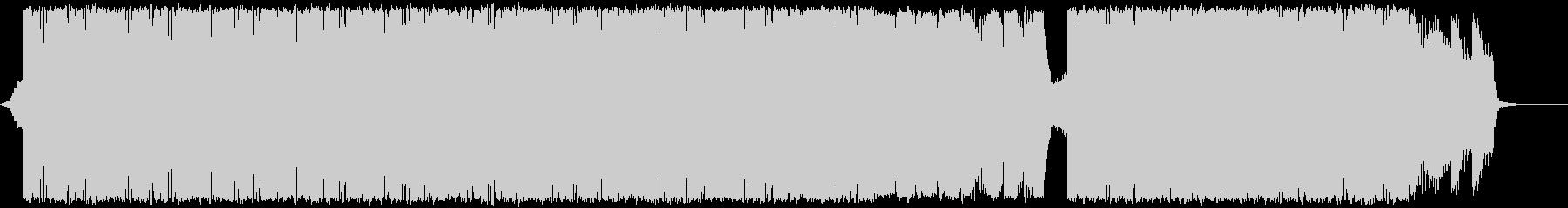 二胡+琵琶+ヒップホップの未再生の波形
