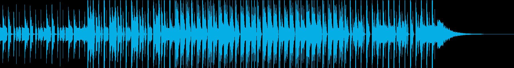 ピコピコ愉快でクールなエレクトロの再生済みの波形