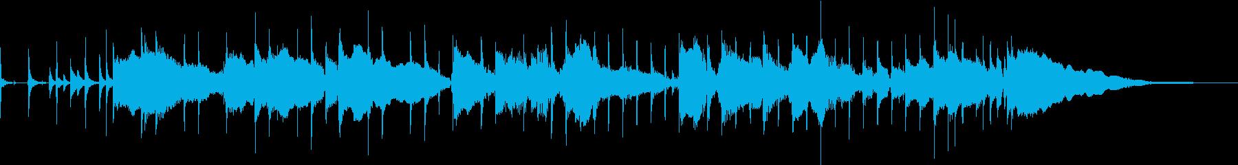 バンドサウンドのブルージーで爽やかOP曲の再生済みの波形