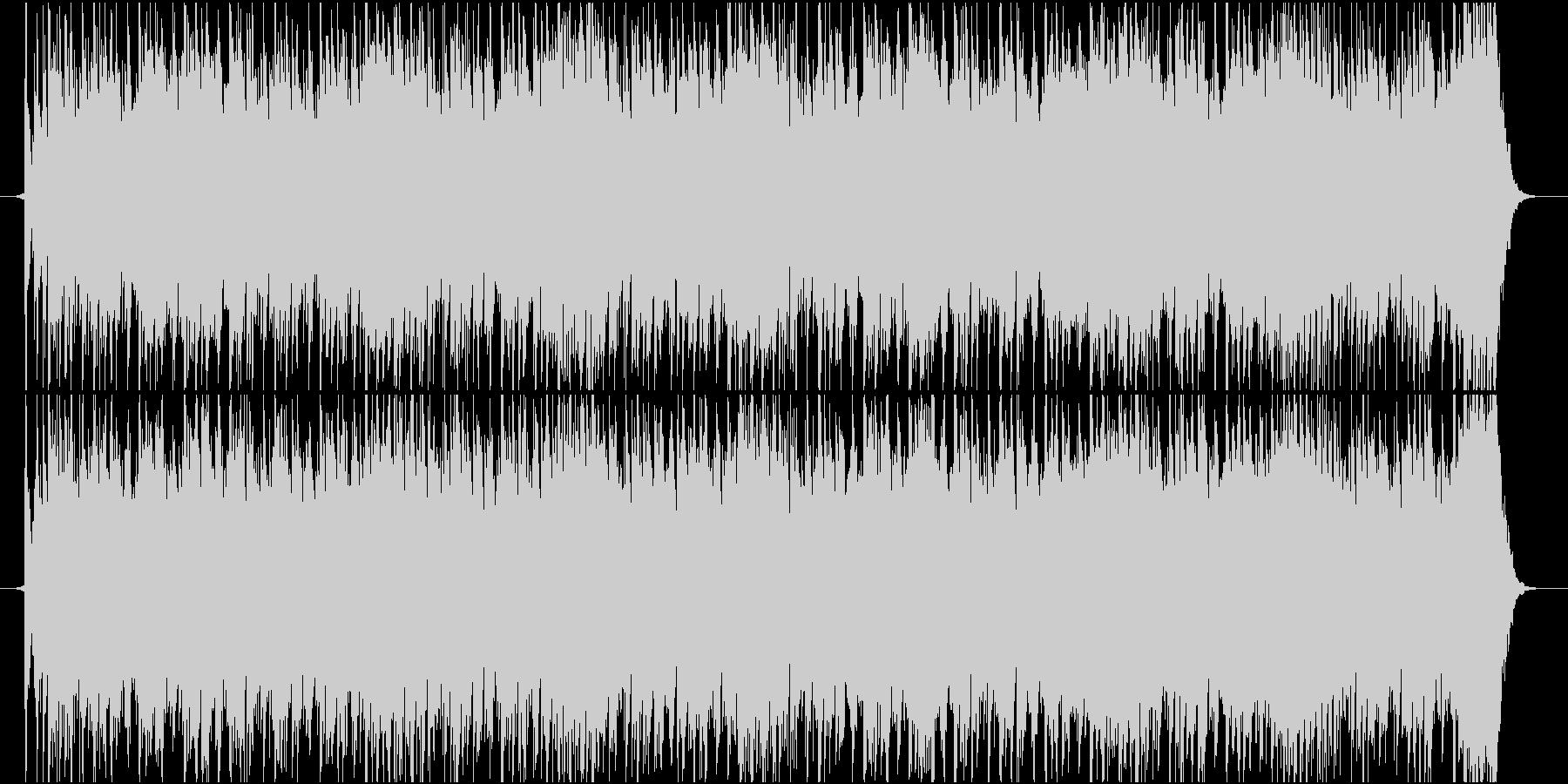 EDMバックグランドミュージックの未再生の波形