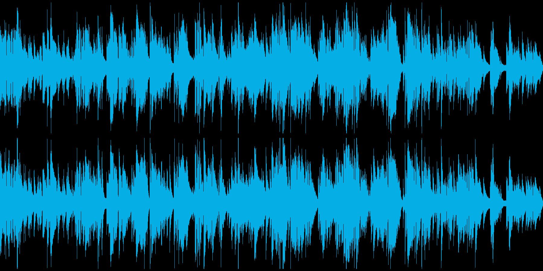 アダルティなバラードサックス ※ループ版の再生済みの波形
