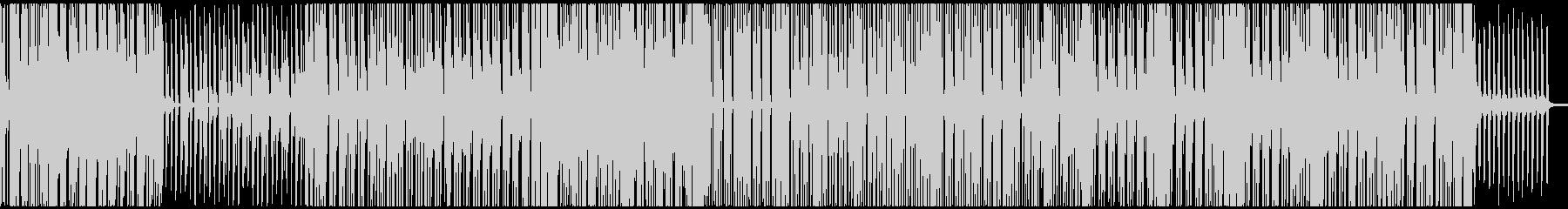 春~夏向きのさわやかなレゲエBGMの未再生の波形