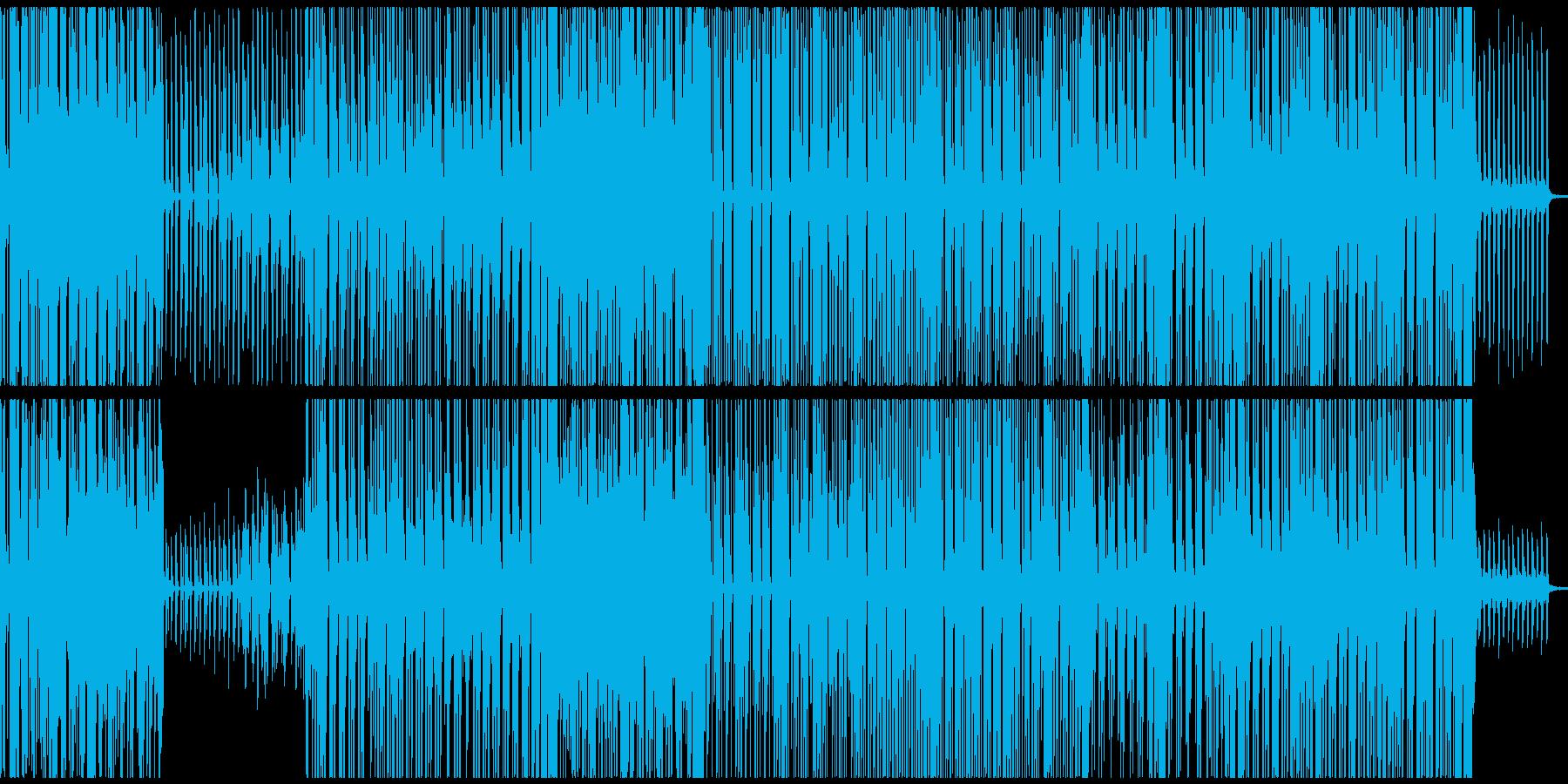 春~夏向きのさわやかなレゲエBGMの再生済みの波形