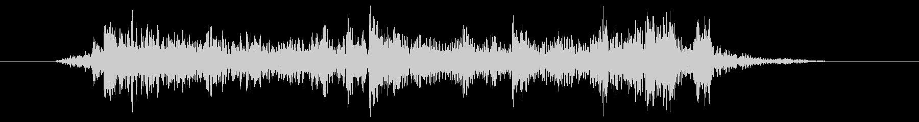 デジタルロック風ドラムフィルの未再生の波形